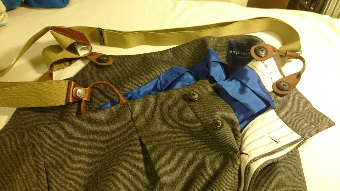 skräddarsydda byxor