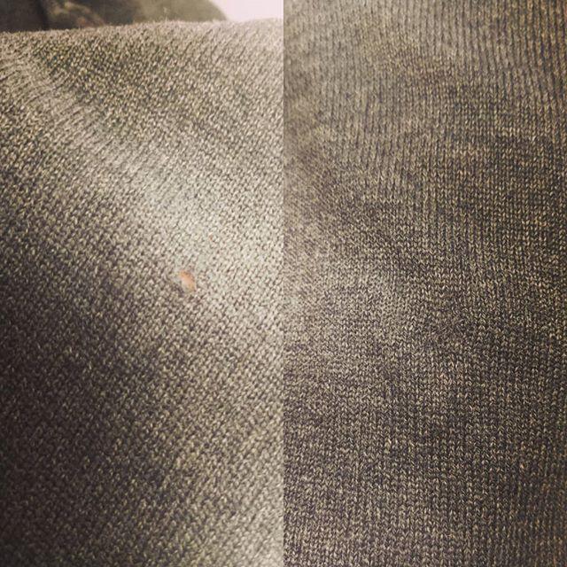 När man har ett hål i sin stickade tröja kan man oftast laga det utan större problem.