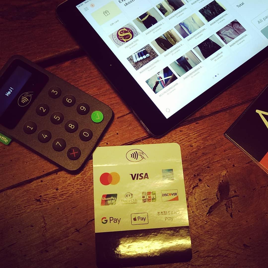 Betalning utan krångel. Zettle by PayPal Europe. Du kan välja olika alternativ. Din Skräddare i Helsingborg