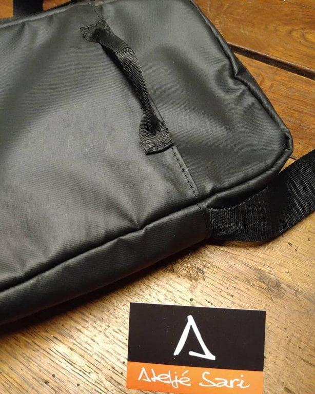 Flera ändringar på väskan när man enkelt vill hänga nyckelknippan utanpå väskan. Din Skräddare i Helsingborg